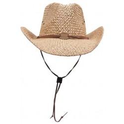 Chapeau de Paile Avec Jugulaire