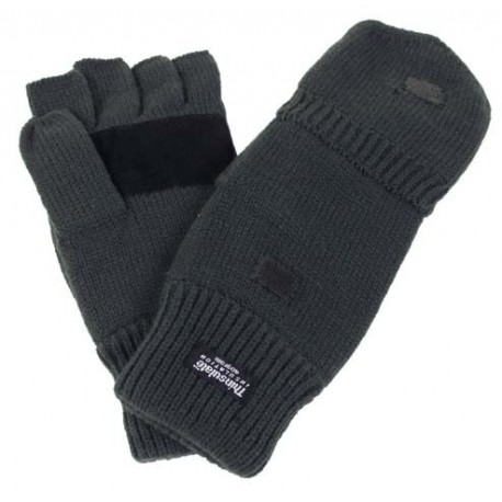 """Mitaines-Moufles Tricot """"Thinsulate"""""""