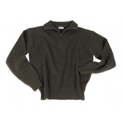 Pullover Marine Acrylique