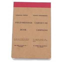 Carnet de Campagne 11x17cm