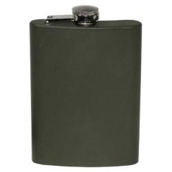 Flasque Acier Inoxydable Olive