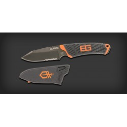 Couteau Lame Fixe Compact Gerber Bear Grylls
