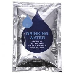 "Eau Potable ""Emergency"", 5 sachets de 100ml"